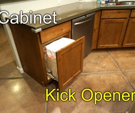 Cabinet Opener - Kick to Open