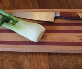 Make a simple wooden cutting board