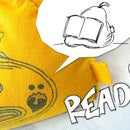 T-Shirt Mini Beanbags - Learn How to Sew and Make Your Own Flexible Reading Bookstand
