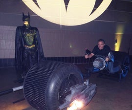 Build a Bat-Pod (out of Junk)
