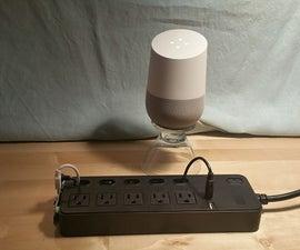 Google Home + Raspberry Pi Power Strip