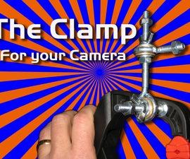 DIY Three Axis Camera Clamp