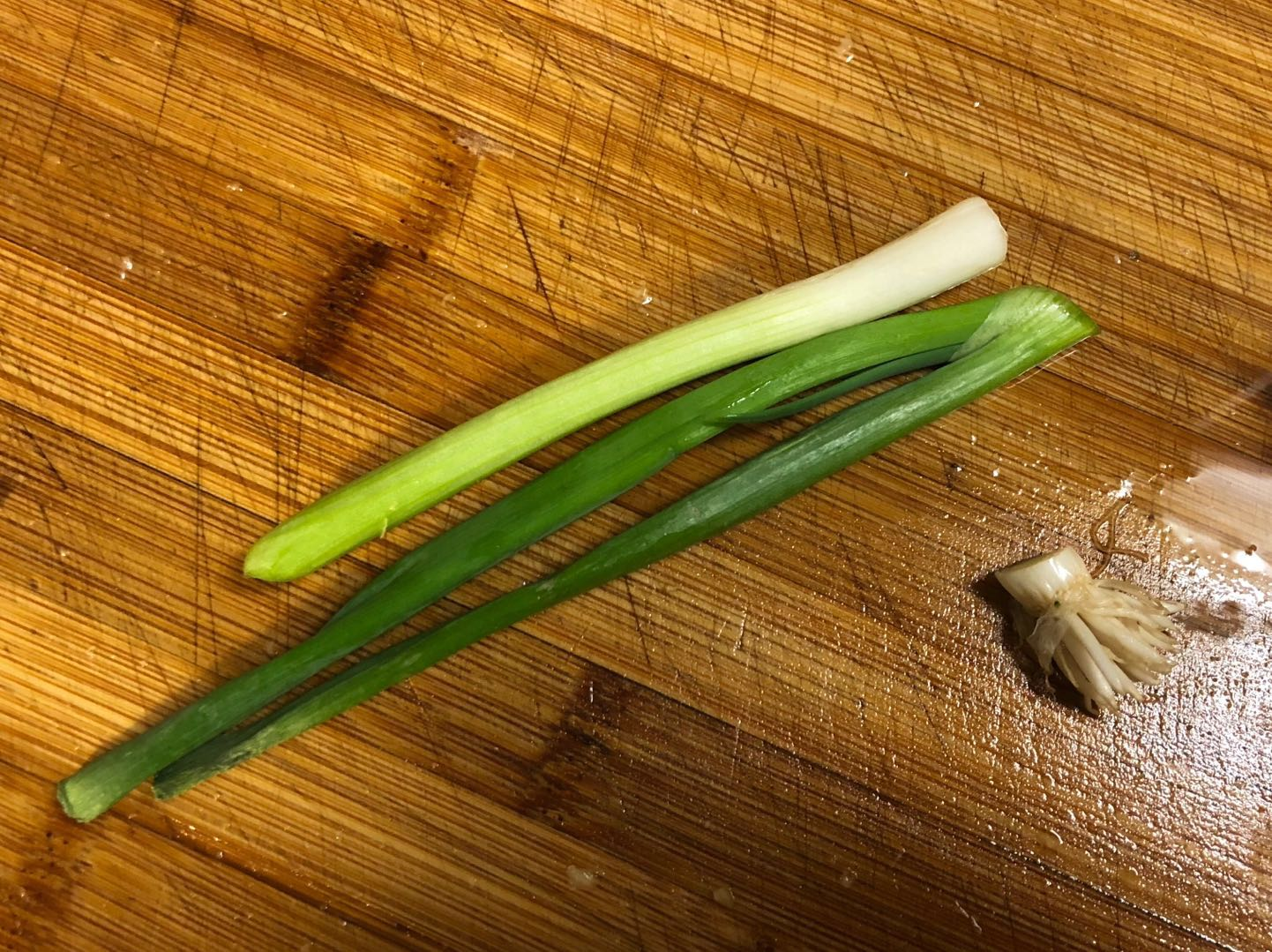 Picture of Add More Flavor - Grind Green Onion and Ginger