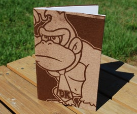 Recycled T-Shirt Journal - With Donkey Kong, Harry Potter, and Other Nerdy Things