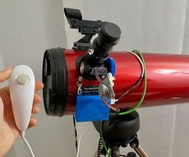Nunchuck Controlled Telescope Focuser
