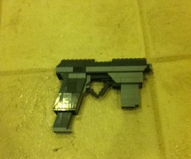 Futuristic Lego Pistol
