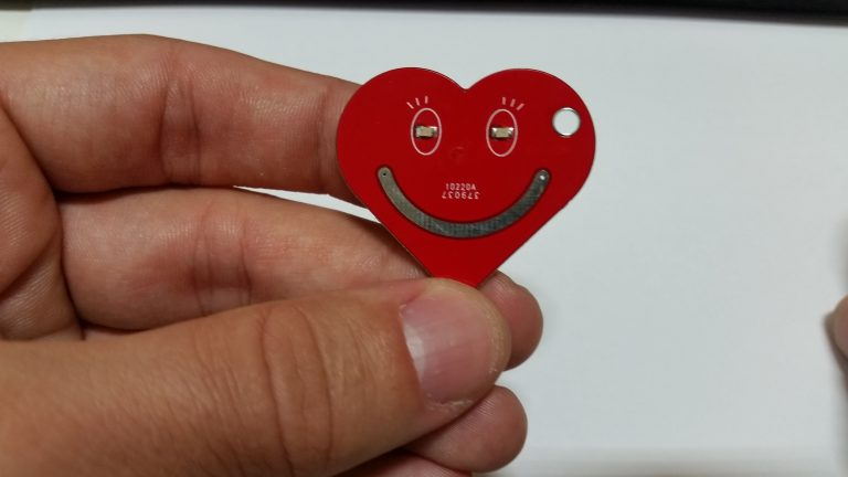 Picture of Heart Keychain