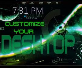 How To Customize Your Desktop