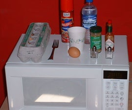 Two Minute Microwave Egg