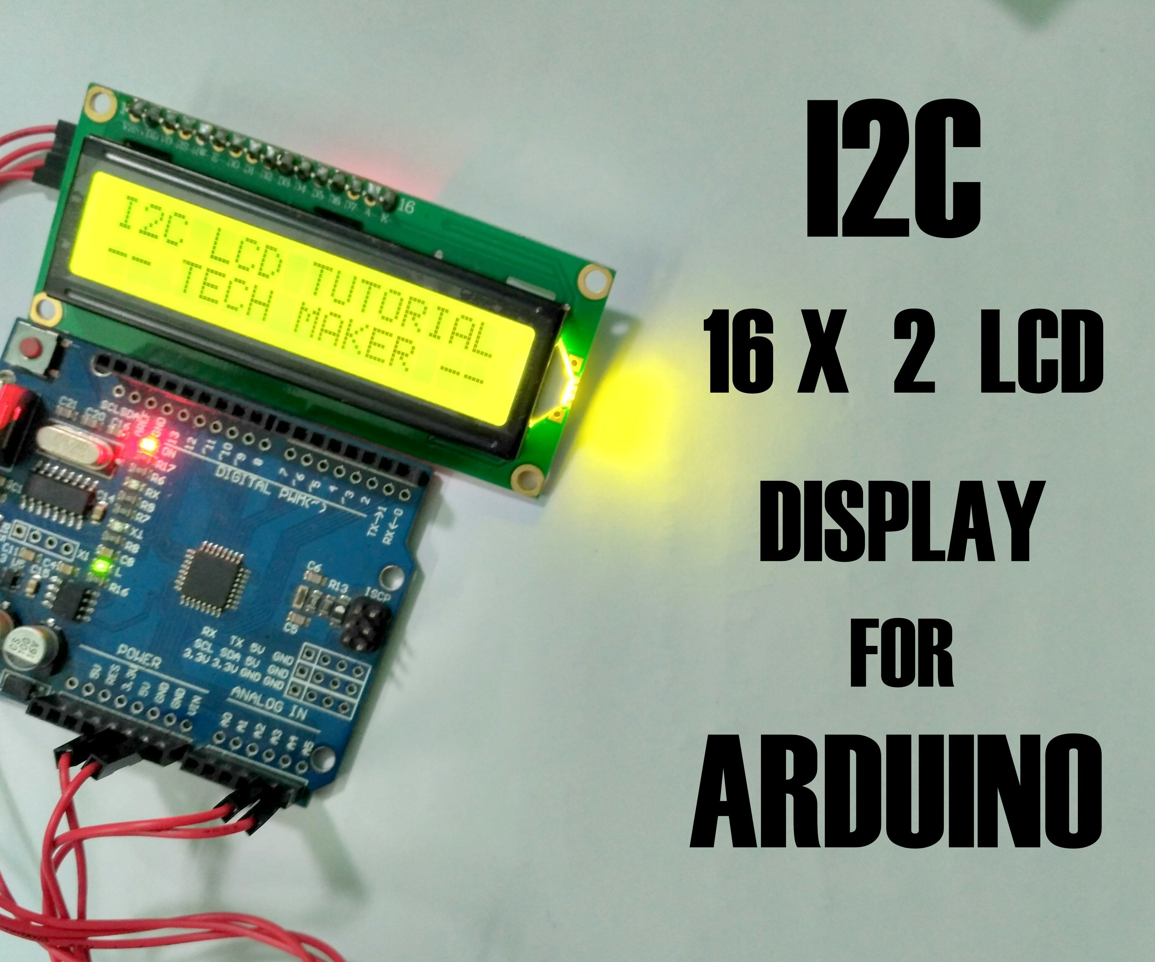 How to Connect I2C Lcd Display to Arduino Uno: 5 Steps (with Pictures)