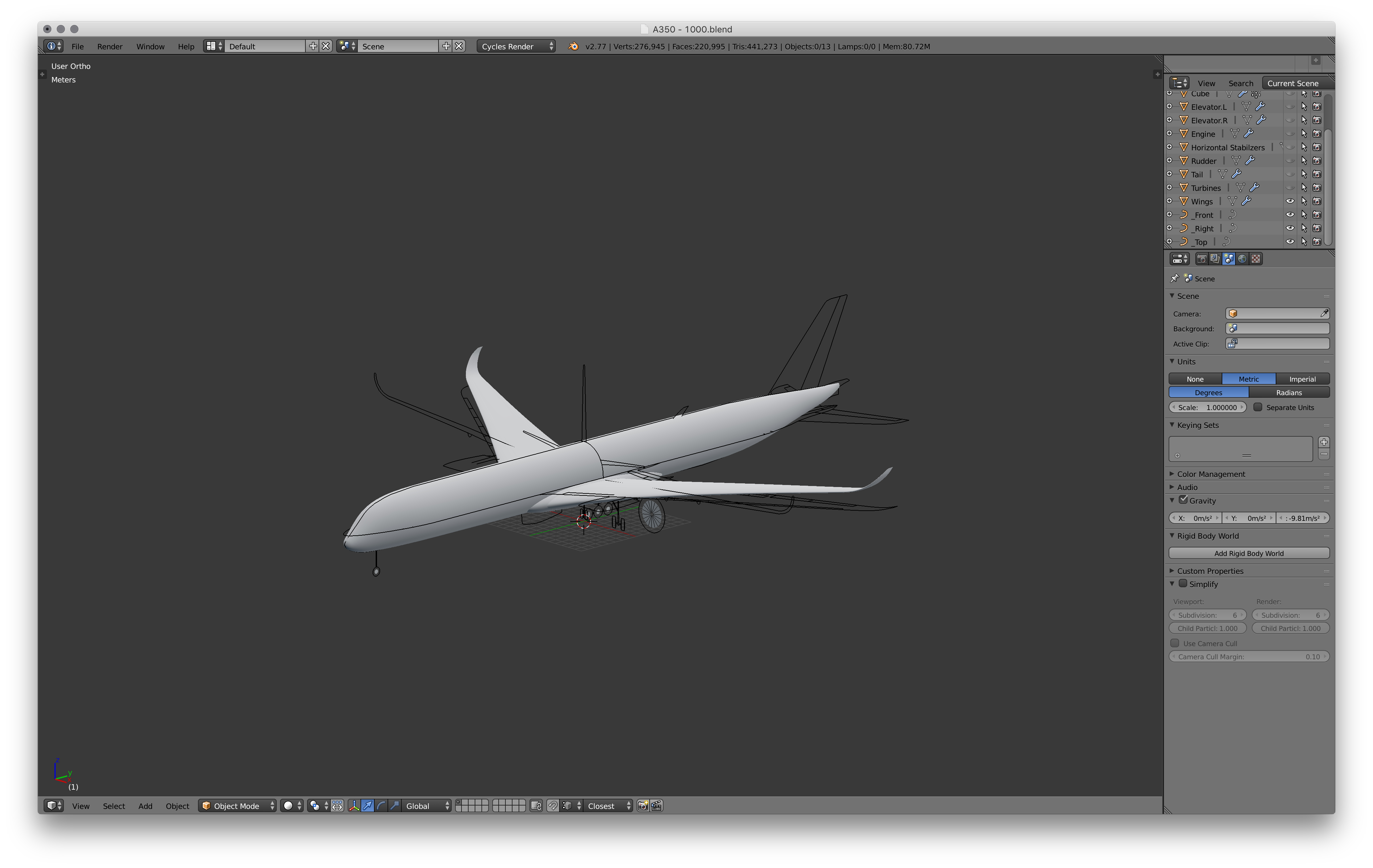 Picture of Model the Wings