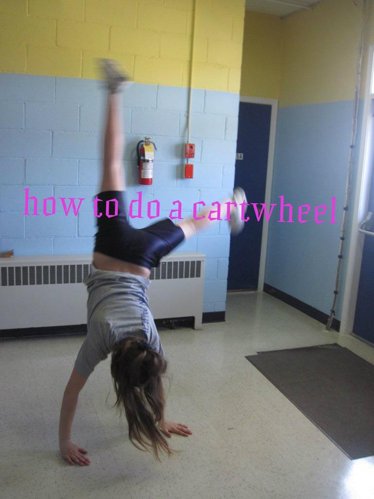 Picture of How to Do a Cartwheel
