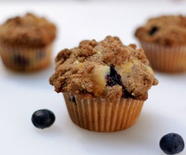How to make Amazing Homemade Blueberry Muffins