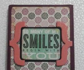 Multi-fold handmade photo album