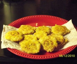 How to make fried green Plantain (tostones)