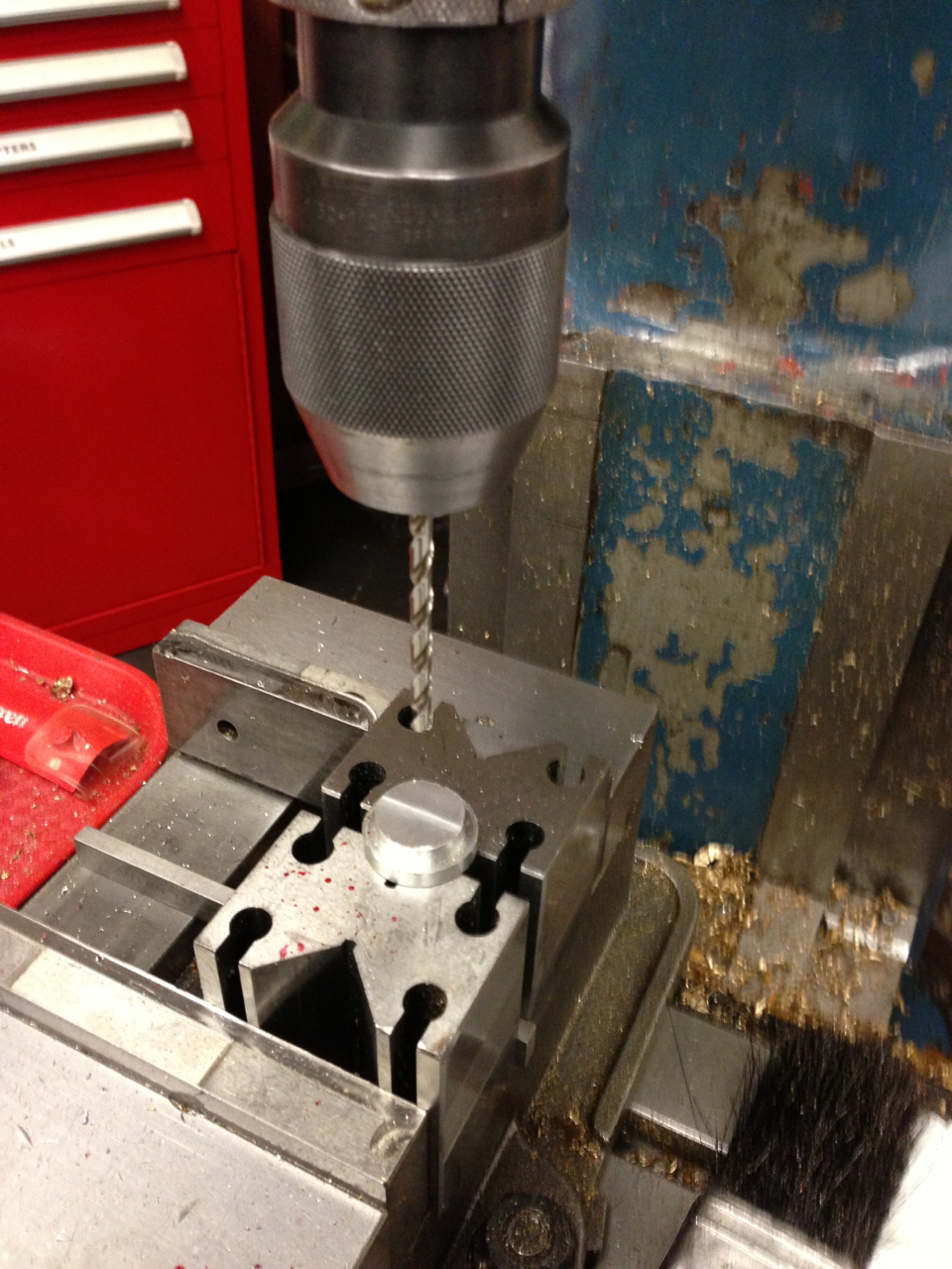 Picture of Cut the Base Flange