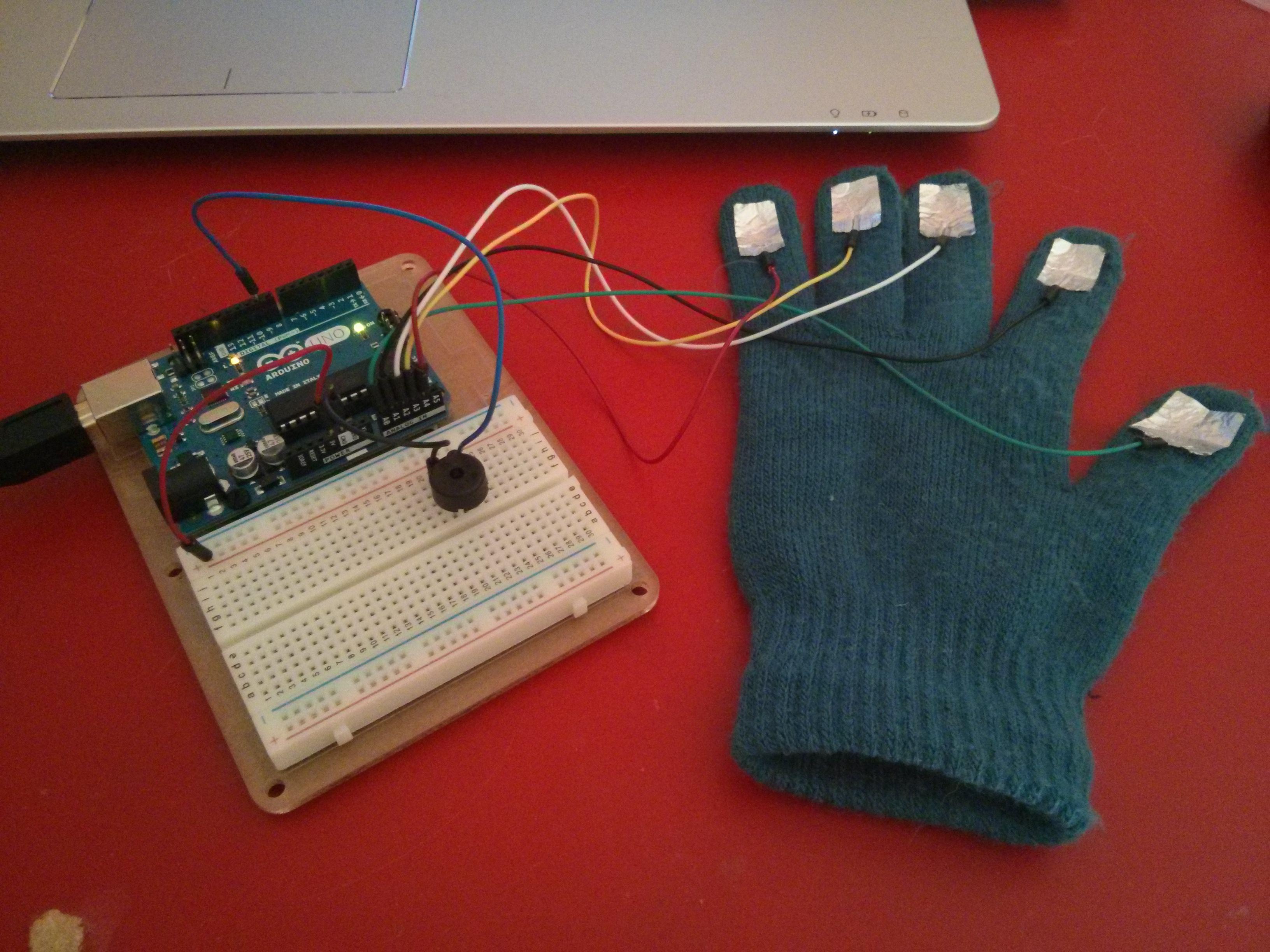 Picture of Piano TouchSense Glove