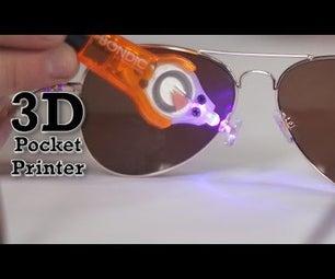 Bondic How-To - Glasses Nose Pad Repair