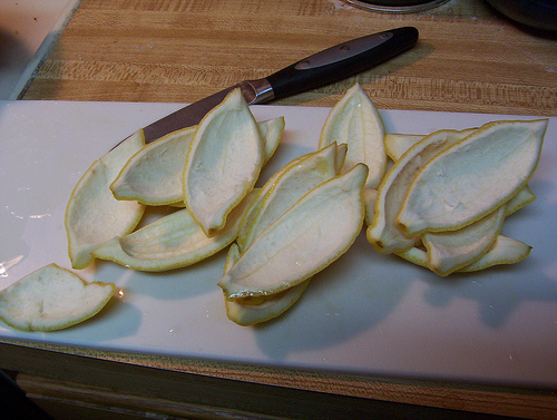 Picture of Cutting the Peels