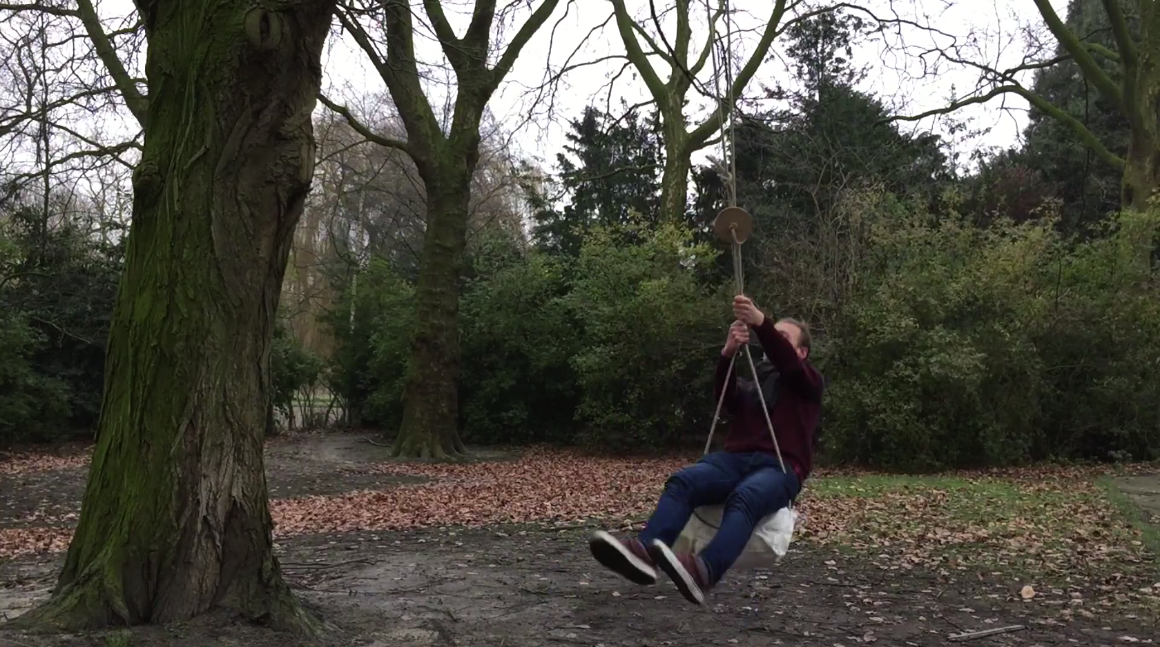 Picture of Using the Backpack Swing.