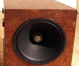 Build an Infrasonic Subwoofer