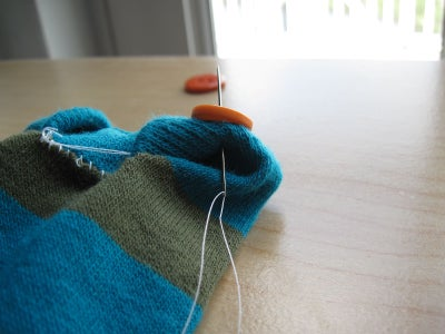Creating the Creature - Sewing (part 2)