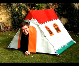 Play Tent for Kids - Summer DIY Project