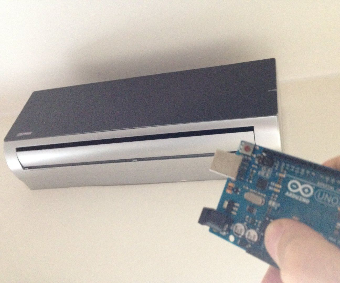 Air Conditioning Web Controlled by Arduino: 4 Steps (with
