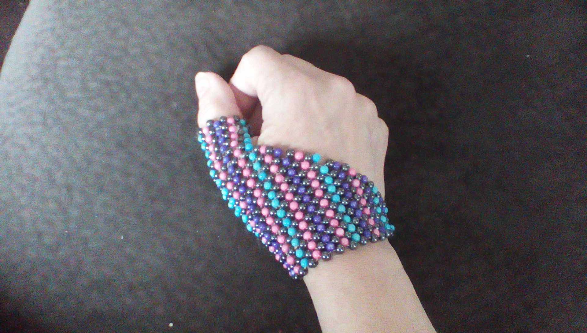 Picture of Beaded Wristlet