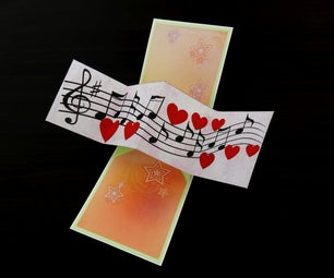 Twist and Pop Card - Song of Love