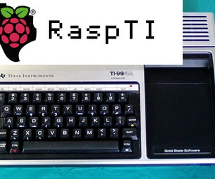 RaspTI: Convert a Vintage Computer (TI-99/4A) Into a RaspPi Workstation - Part 1 - Keyboard