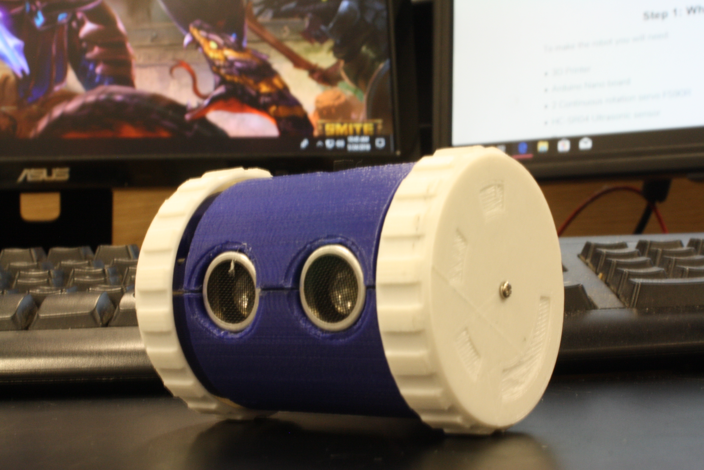 Picture of Object Avoiding Arduino Robot