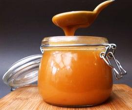 Simple Caramel (Salted Caramel) Sauce