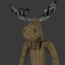 Pissed-Off Moose: Making a 3D model for animation