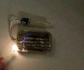 Mini Altoid Gas Grill