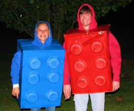 LEGO Halloween Costume(using recycled materials)