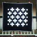 How to Spray Baste a Quilt and Machine Quilt it too!