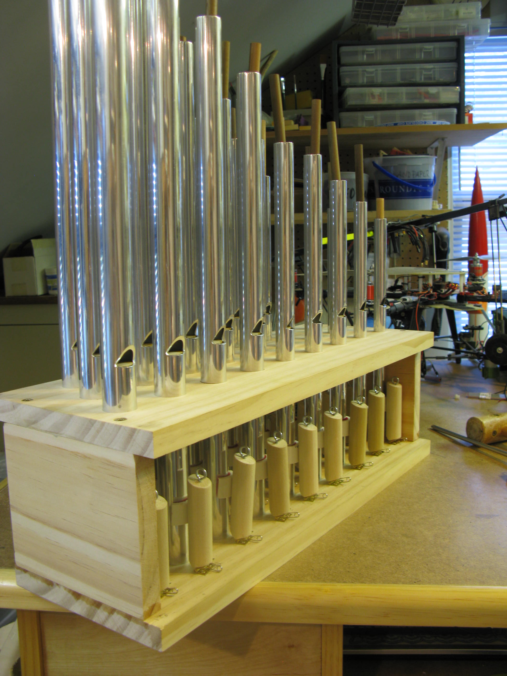 Picture of Making the Pipes