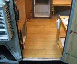 Replace Rotten Camper Floor