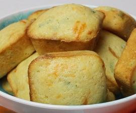香辣墨西哥切达玉米面包