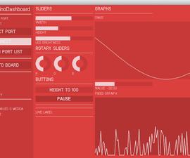 Guino: Dashboard for your Arduino