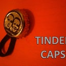 Tinder Caps - The Bottle Cap tinder stash