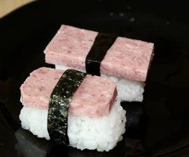 Cute and Tasty Spam Musubi
