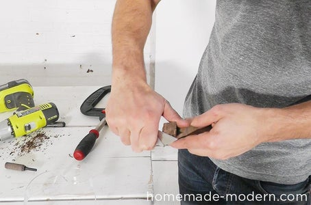 Finish Cutting Off the Handle