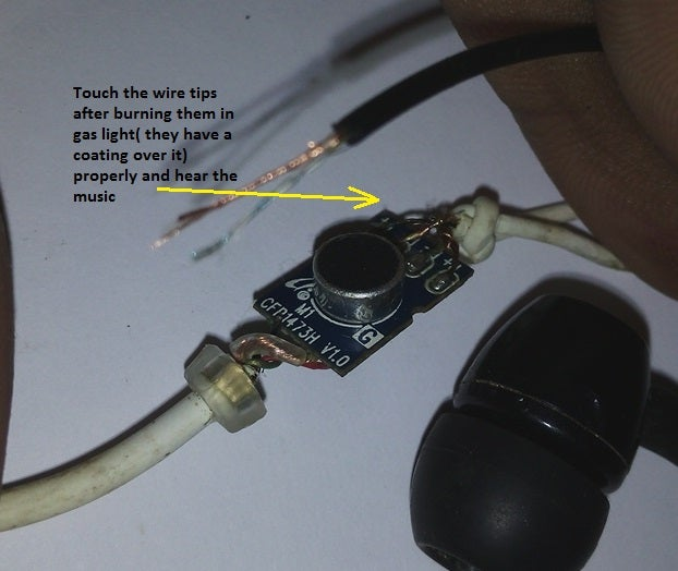 How To Repair Damaged Earphone 4 Steps Instructables