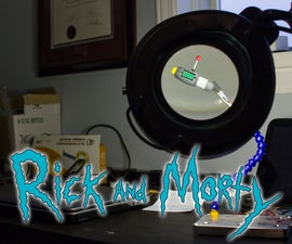 Dream Inception Tool - Rick and Morty Prop
