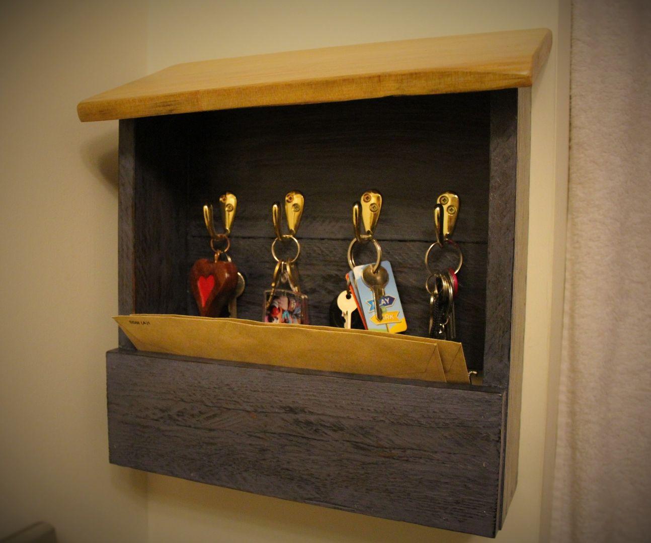 Diy Pallet Wood Key Holder : 7 Steps (with Pictures ...