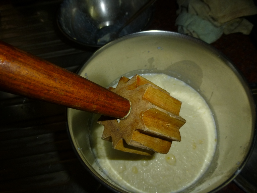 Picture of Making Butter From Cream