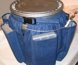 Let's Go Fishing Bucket Cover