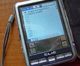 Crazy Palm PDA Screen